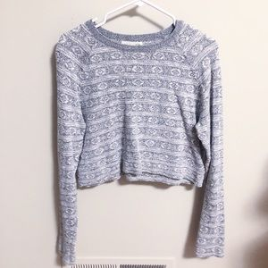 Urban Outfitters Staring at Stars Cropped Sweater